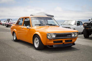 The Nissan Maxima was the Datsun 510 first?