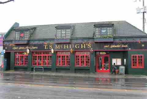 T.S. McHugh's  Irish bar in Seattle