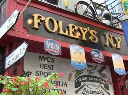 Foley`s NY Pub and Restaurant, New York Irish Pub