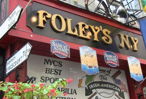 Foley`s NY Pub and Restaurant, New York Irish Pub