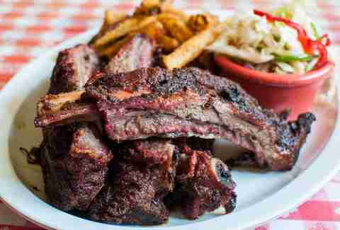 Ribs at Memphis Minnie's