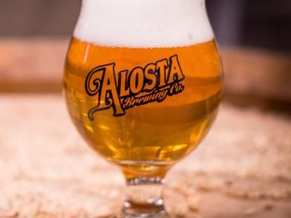 Alosta Brewing Co. beer los angeles ca