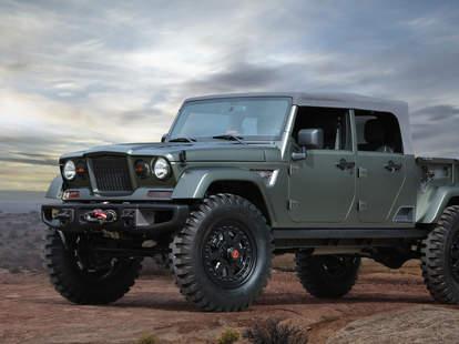 Jeep Easter Safari Concept