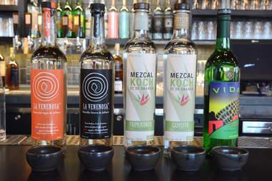 Espita Mezcaleria, Mexican alcohol