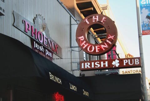 Phoenix Irish Pub, San Francisco Irish Bars