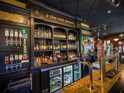 Nine Irish Brothers interior bar best Irish bar indianapolis