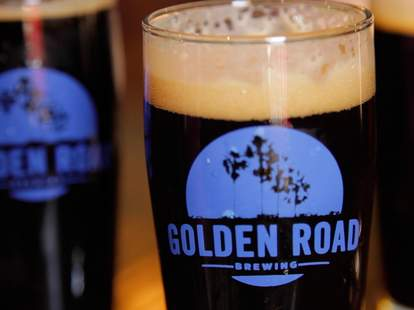Golden Road Brewing beers in Los Angeles