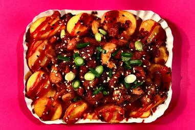 Hot Gogi BBQ Potatoes from MMaah