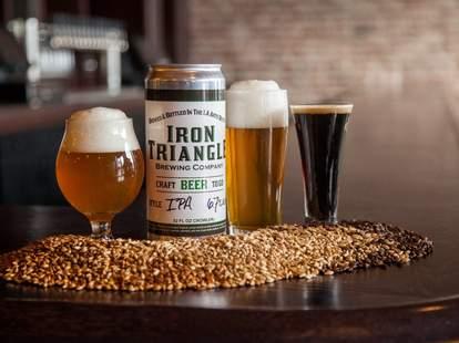 Iron Triangle Brewing DTLA drinks