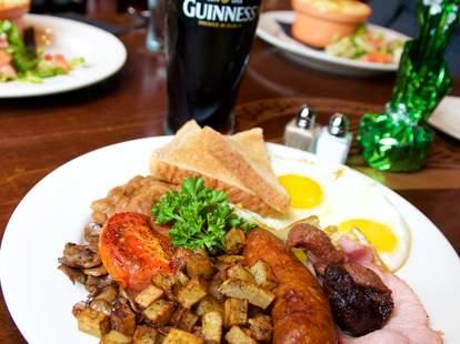 Irish breakfast, The Irish House, New Orleans