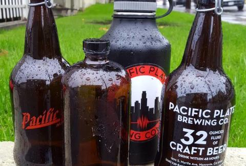 Pacific Plate Brewing Co. in Los Angeles