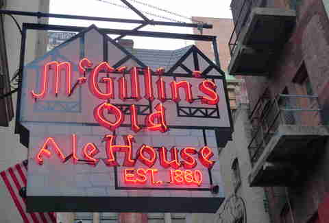 McGillin's sign philadelphia best irish bars