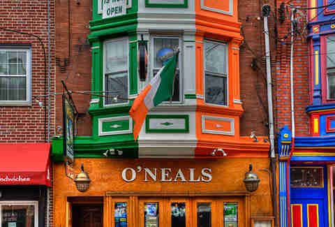 o'neals pub philadelphia irish bar
