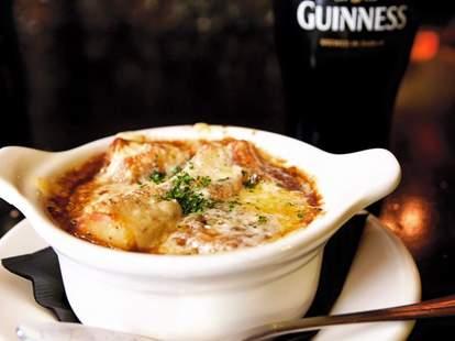 Olde Blind Dog Irish Pub, stout opinion soup