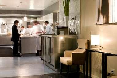 interior of alinea chicago fine dining celebrity chef