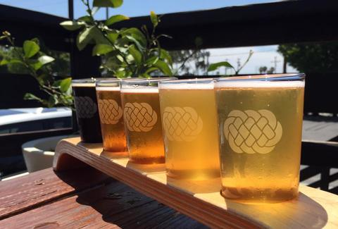 Three Weavers Brewing Company in Los Angeles
