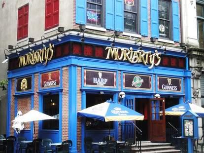 Moriarty's Restaurant/Irish Pub, Philly Irish Bars