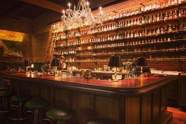 whiskey library portland cocktails