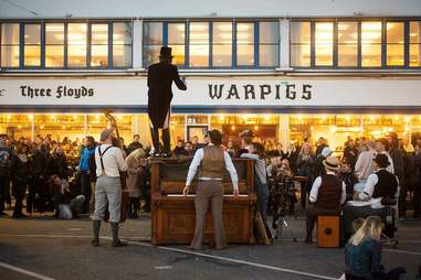 Warpigs restaurant and bar in Copenhagen, Denmark