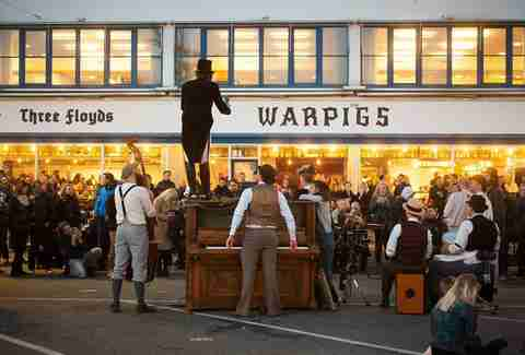 Warpigs restaurant and bar in Copenhagen, Denmark