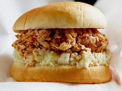 sandwich from skylight inn bbq