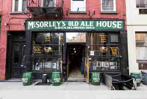 mcsorley's old ale house exterior