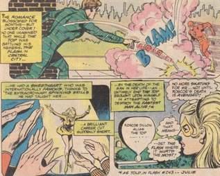the flash golden glider comics