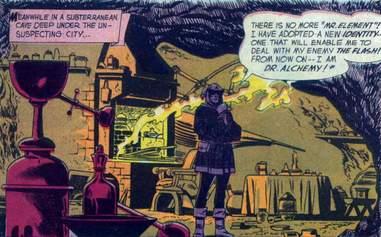dr alchemy the flash comics
