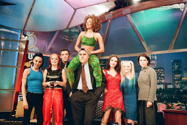 Spice Girls and Ben Affleck on Jay Leno Show
