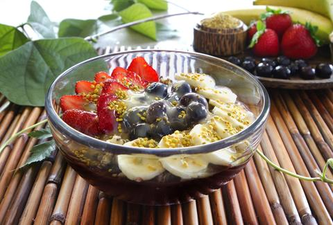 Tropical Tribe, acai bowl