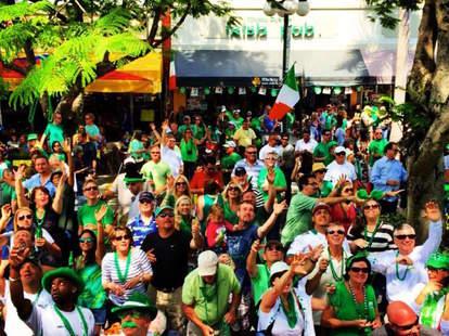 Mickey Byrnes Irish Pub in Miami