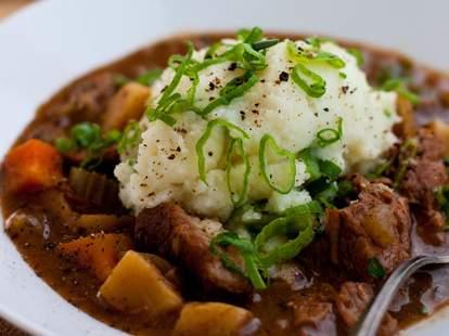 Molly Darcy's of Charleston irish food soup potatoes