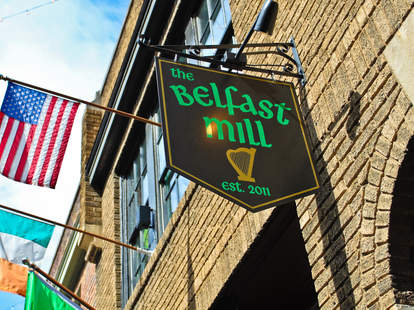 belfast mill sign