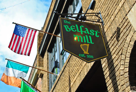 belfast mill sign