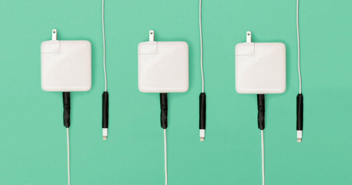 How to Prevent Apple Power Cords From Fraying - Thrillist