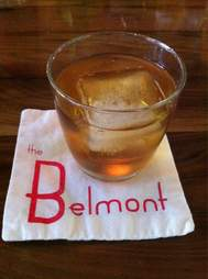 Old Fashioned cocktail at the Belmont Lounge