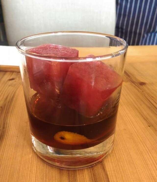 Edmund's Oast Red Wedding cocktail