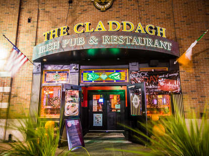 Exterior of The Claddagh bar