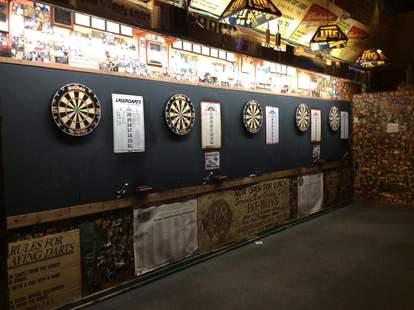 The Villager Tavern darts in Nashville