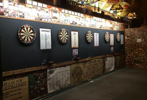 The Villager Tavern darts in Nashville