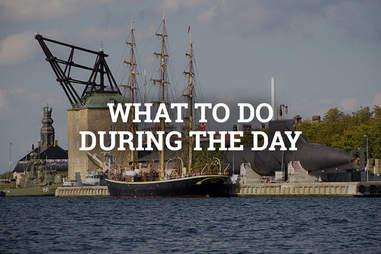Royal Naval Ship Museum in Copenhagen, Denmark