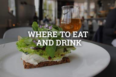 sandwich in Copenhagen, Denmark
