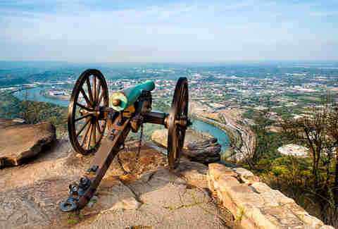 tennessee, overlooking Chattanooga