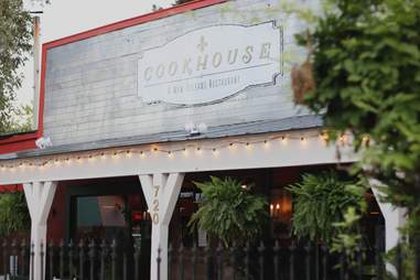 exterior of the cookhouse