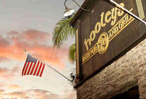 Hooley's Irish Pub in San Diego