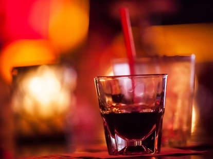 shot on bar