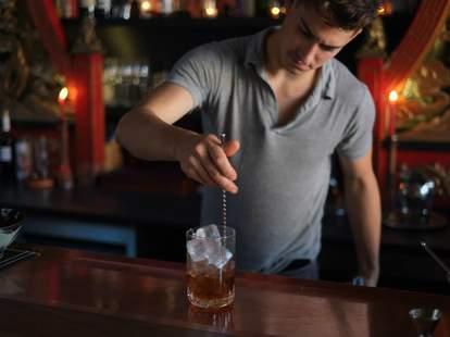Expatriate bartender in Portland