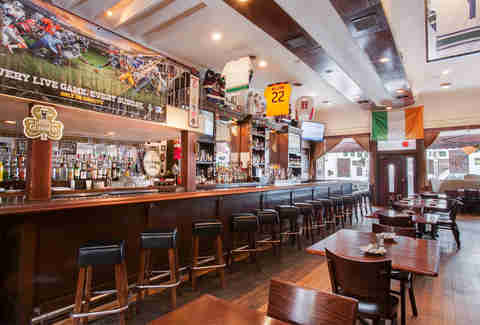 The Stout Public House Irish bar in San Diego