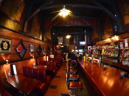 interior of holman's bar and restaurant