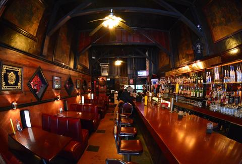 interior of holman's bar and restaurant